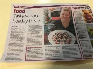 queen of canteens Brooke flanagan in the newspaper